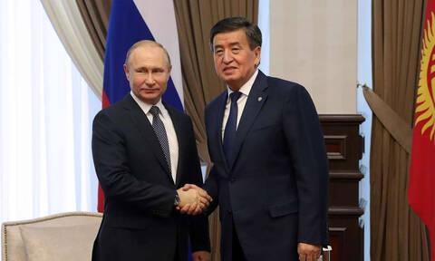 Путин прибыл в Киргизию с государственным визитом