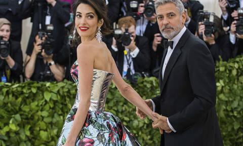 Ξανά δίδυμα για τον George Clooney και την σύζυγό του Amal