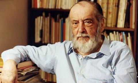 Σαν σήμερα το 2005 πέθανε ο Μίλτος Σαχτούρης, ένας από τους σημαντικότερους Έλληνες ποιητές