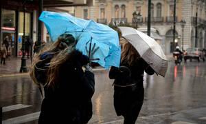 Καιρός - Έκτακτο δελτίο ΕΜΥ: Σαρώνει τη χώρα η κακοκαιρία με κρύο, καταιγίδες και πολλά μποφόρ