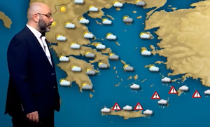 Πώς θα εξελιχθεί ο καιρός μέχρι την Τρίτη; Η ανάλυση του Σάκη Αρναούτογλου (video)