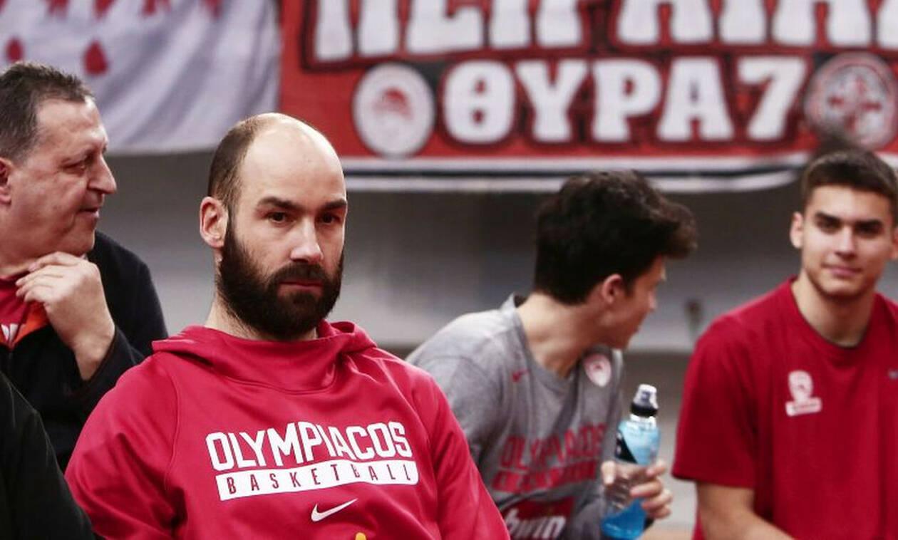 Ολυμπιακός: Χειρουργείο και τέλος σεζόν για Σπανούλη! (photos)