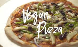 Η συνταγή της ημέρας: Vegan pizza