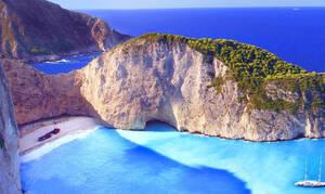 Ζάκυνθος: Τέλη Απριλίου ανοίγει ξανά για τους επισκέπτες η παραλία «Ναυάγιο»