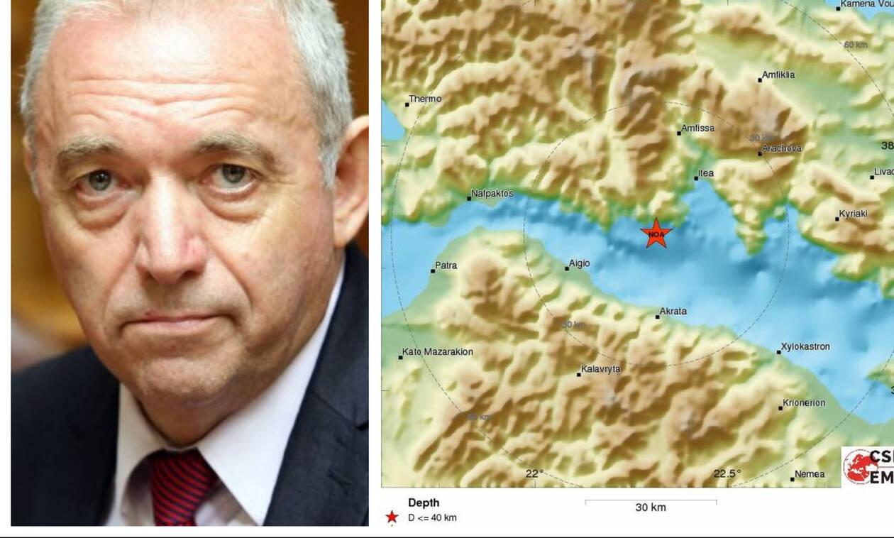 Σεισμός στον Κορινθιακό - Ευθύμιος Λέκκας στο Newsbomb.gr: «Δεν γνωρίζουμε αν ήταν ο κύριος»