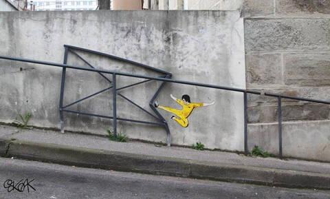 Νοιώθεις «πεσμένος» και μελαγχολικός; Δες αυτά τα γκράφιτι και φέρε τα πάνω - κάτω στη διάθεση σου