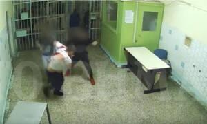 Ντοκουμέντο: Καρέ - καρέ η δολοφονία ποινικού στις φυλακές Κορυδαλλού (ΣΚΛΗΡΟ ΒΙΝΤΕΟ)