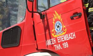 Συναγερμός στη Σκιάθο: Φωτιά σε ορεινή περιοχή κοντά στον Τρούλο