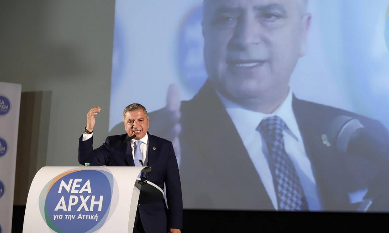 Εκλογές 2019- Πατούλης: 10 άξονες για μια ασφαλή Αττική
