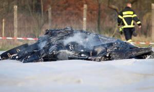 Συντριβή αεροσκάφους στη Γερμανία: Οι πρώτες εικόνες από το σημείο της τραγωδίας