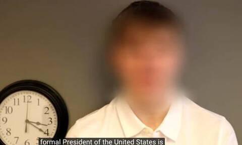 Επέστρεψε από το μέλλον και αποκαλύπτει: «Ο πρόεδρος των ΗΠΑ το 2045 θα είναι...»  (vid)