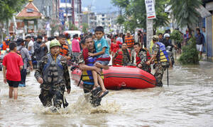 Φονική κακοκαιρία στο Νεπάλ: 25 νεκροί και 400 τραυματίες από ισχυρή καταιγίδα (pics)