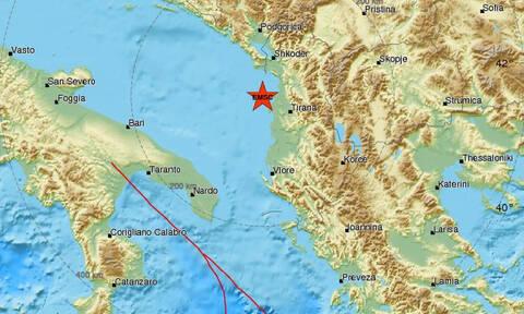 Σεισμός στις ακτές της Αλβανίας - Αισθητός στο Δυρράχιο (pics)