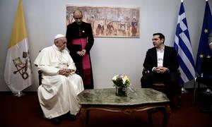 Πάπας Φραγκίσκος για Τσίπρα: Αξίζει βραβείο Νόμπελ