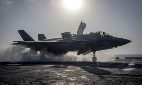 «Χαστούκι» στον Ερντογάν: Οι ΗΠΑ «παγώνουν» την παράδοση των μαχητικών F-35 στην Τουρκία