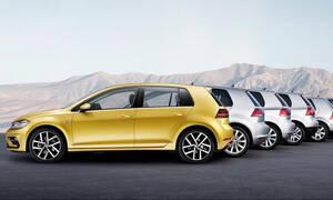 Πόσα Golf πουλάει η VW τα τελευταία 45 χρόνια;