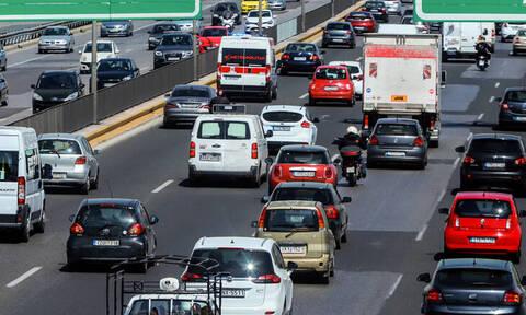 Κίνηση στους δρόμους: Κυκλοφοριακό «έμφραγμα» στον Κηφισό