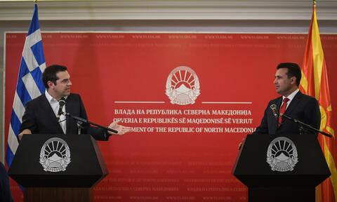 Τσίπρας: Να γράψουμε ένα νέο αφήγημα για τα Βαλκάνια - Ζάεφ: Να αναπληρώσουμε το χαμένο χρόνο