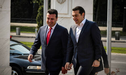 Ципрас и Заев прокомментировали итоги встречи на пресс-конференции