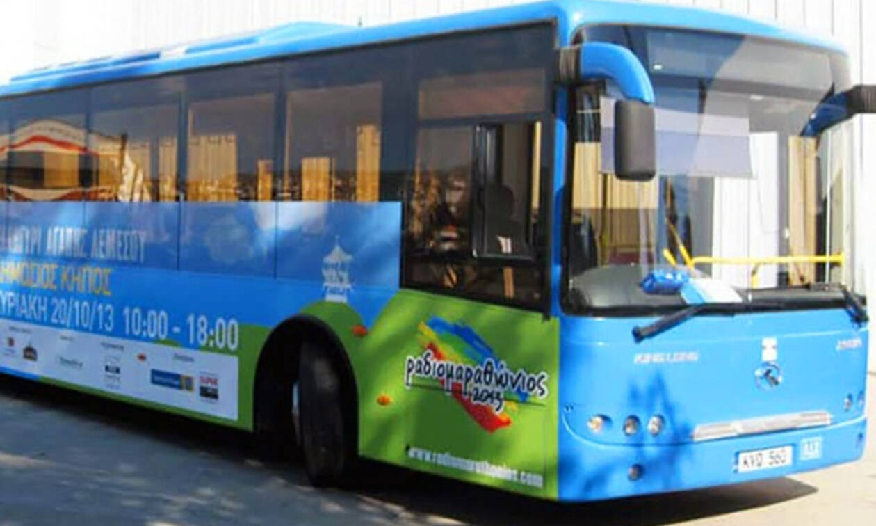 Сегодня на Кипре бастуют водители автобусов Лимассола