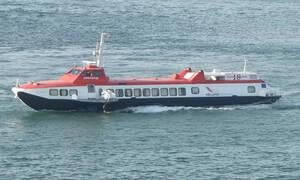 Περιπέτεια εν πλω για 86 επιβάτες του «Flying Dolphin 18»