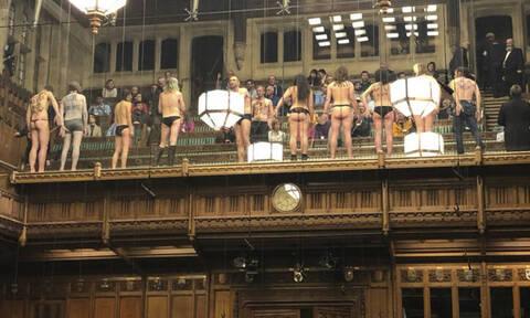 Η αντίδραση του Μίλιμπαντ στην «γυμνή εισβολή» στο κοινοβούλιο... ήταν όλα τα λεφτά