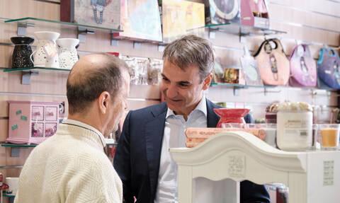 Εκλογές 2019 - O Κυριάκος Μητσοτάκης επισκέφτηκε τα Σεπόλια