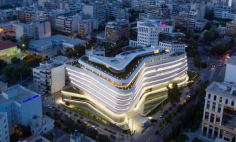 Το εντυπωσιακό κτίριο στην Καλλιθέα που μοιάζει με διαστημόπλοιο! (photos)