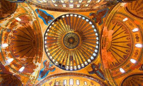 Ποια τοιχογραφία στην Αγιά Σοφιά σκότωνε όποιον Τούρκο προσπαθούσε να την καταστρέψει
