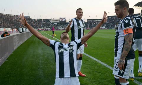 ΠΑΟΚ-Αστέρας Τρίπολης 2-0: Με τη «σφραγίδα» Μάτος