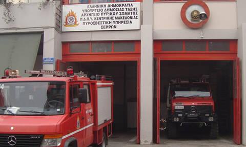 Σέρρες: Μεγάλη πυρκαγιά σε εργαστήριο ζαχαροπλαστικής
