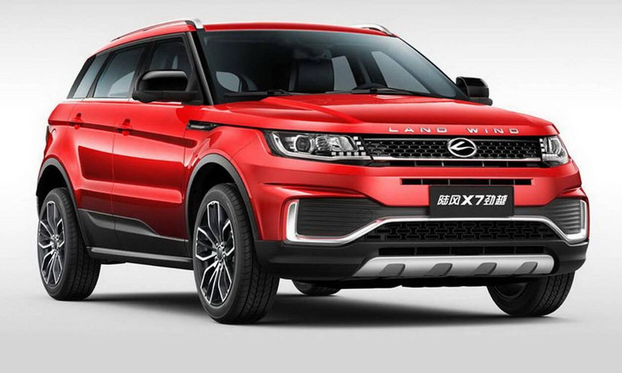 Δικαίωση της Land Rover για το «μαϊμού» Evoque