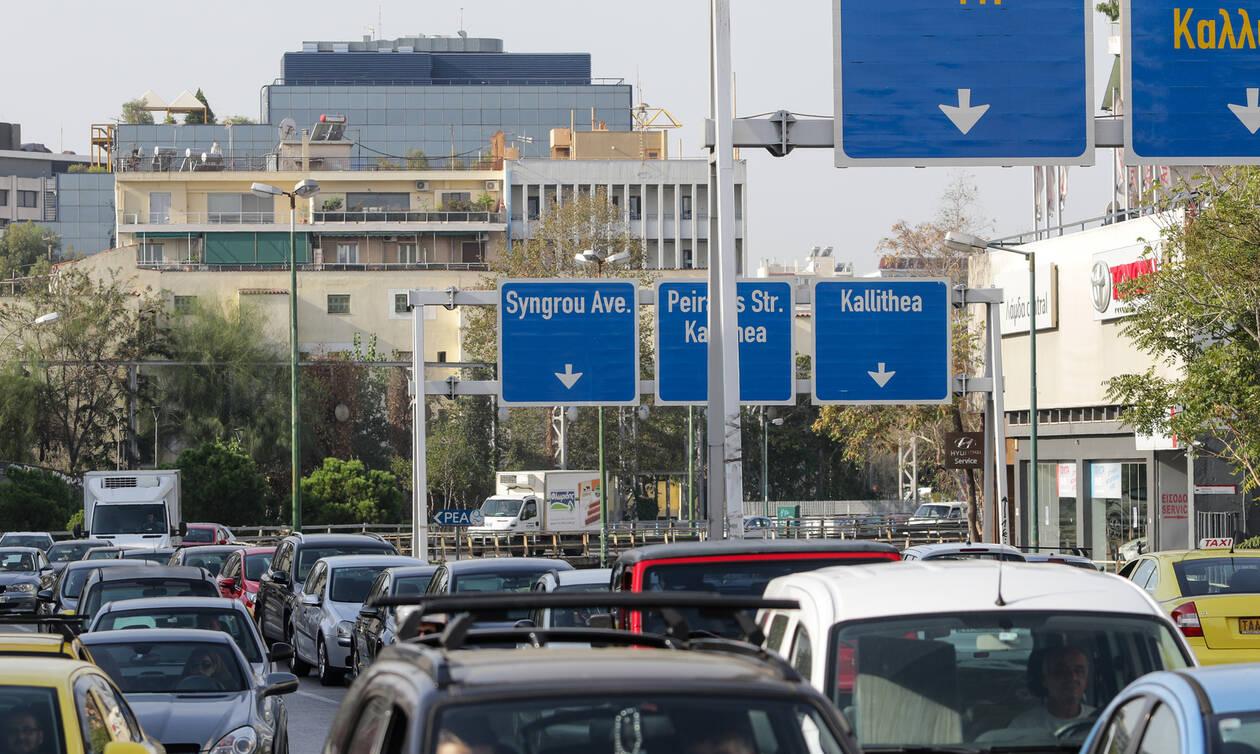 Κίνηση στους δρόμους: Χάος στην Αθήνα - Πού σημειώνεται μεγάλο μποτιλιάρισμα