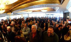 Περράκης στο Newsbomb.gr: Στημένο επεισόδιο της ΓΣΕΕ κατά του ΠΑΜΕ - Μας τρομοκρατούν φουσκωτοί