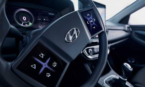 Η Hyundai παρουσιάζει το τιμόνι του μέλλοντος
