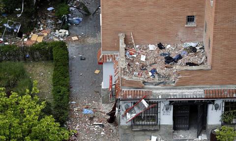 Ισχυρή έκρηξη σε πολυκατοικία στη Μαδρίτη: Τουλάχιστον 16 τραυματίες (pics+vid)