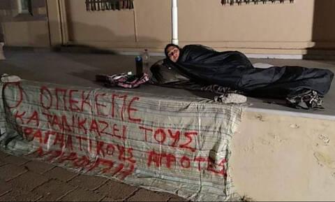 Μυτιλήνη: Στο νοσοκομείο πολύτεκνη μητέρα που κάνει απεργία πείνας