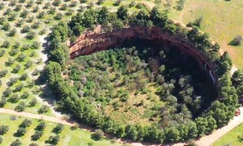 Άργος: Το αρχαίο σπήλαιο που μαγεύει - Δείτε τα εκκλησάκια μέσα στον βράχο