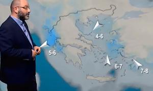 Καιρός: Μέχρι πότε θα διαρκέσει η κακοκαιρία; Η προειδοποίηση του Σάκη Αρναούτογλου (video)