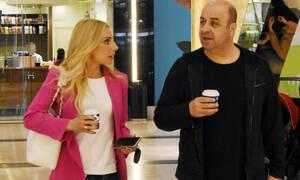 Μάρκος Σεφερλής - Έλενα Τσαβαλιά: Αυτές οι φωτό τους «καίνε» - Τσακώνονταν σε εμπορικό κέντρο;