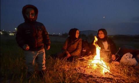 Διαβατά: Σχεδόν άδειος ο άτυπος καταυλισμός - Αποχώρησαν oι περισσότεροι πρόσφυγες