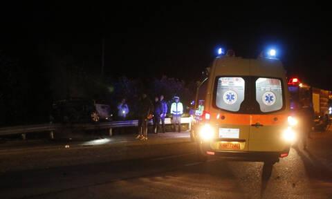 Φρικτό τροχαίο στη Λάρισα: Νεκρός ένας 56χρονος