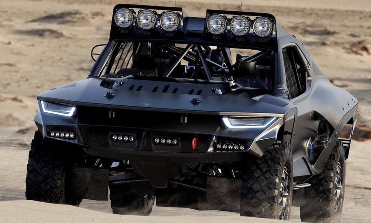 Καιρό έχουμε να δούμε τόσο τρομακτικό αμάξι! (pics)