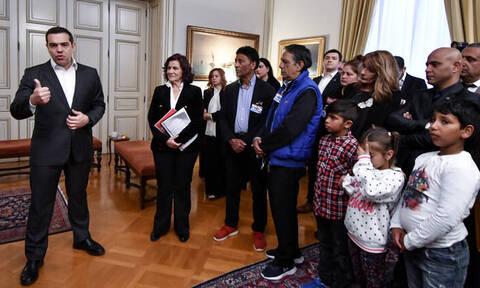 Συνάντηση Τσίπρα με εκπροσώπους Ρομά: «Δεν υπάρχουν πολίτες, πρώτης, δεύτερης ή τρίτης κατηγορίας»