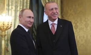 Οριστική ρήξη με τη Δύση: Συμφωνία Πούτιν - Ερντογάν για S-400 και πυρηνικό σταθμό στην Τουρκία