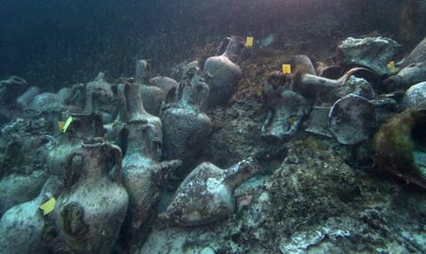 На острове Алониссос дайверы смогут погружаться к затонувшему древнегреческому кораблю