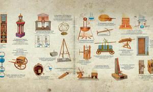 Δεκαοκτώ απολύτως εξωπραγματικές εφευρέσεις των αρχαίων Ελλήνων!
