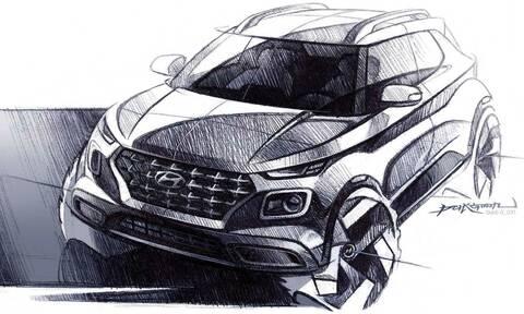 To νέο μικρό SUV της Hyundai θα ονομάζεται Venue