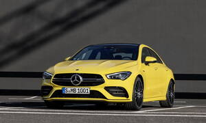 Aυτή είναι η νέα Mercedes-AMG CLA35 4Matic