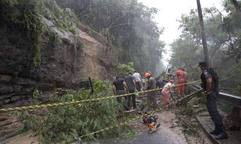 Βραζιλία: Τουλάχιστον 10 νεκροί εξαιτίας πλημμυρών και κατολισθήσεων στο Ρίο ντε Τζανέιρο (pics)